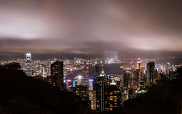 Hongkong szczyt Zdjęcie Stock