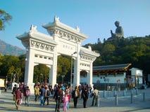 Hongkong Tiantan Buddha. Filmed in Hongkong Tiantan Buddha Royalty Free Stock Image