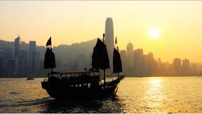 Hongkong: traditie en modernisering Stock Foto