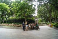 Hongkong Tuen Mun Park scenery, in China Royalty Free Stock Photo