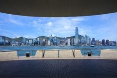 Hongkong Victoria Habour Stock Afbeeldingen