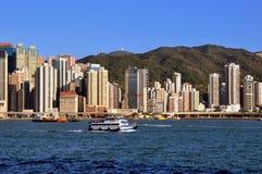 Hongkong Victoria harbor Royalty Free Stock Image