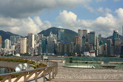 Hongkong Victoria harbor Royalty Free Stock Photo