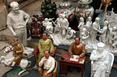 Hongkong: Voorzitter Mao Zedong Mementos Stock Foto