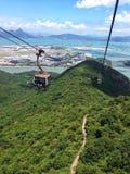 Hongkong wagon kolei linowej Obrazy Royalty Free