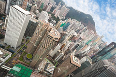 hongkong widok Obraz Royalty Free