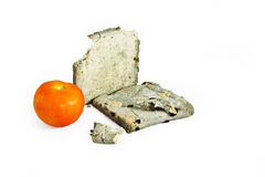 Hongo del pan con el tomate fresco Imágenes de archivo libres de regalías
