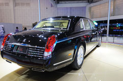 Hongqi limo HQE , chinese chairman parade car Royalty Free Stock Photo