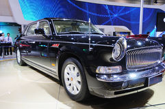 Hongqi limo HQE , chinese chairman parade car Royalty Free Stock Photos