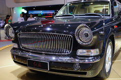 Hongqi limo HQE , chinese chairman parade car Stock Image
