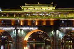 Hongqiao на ноче Стоковое фото RF