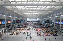 Hongqiao Station Royalty Free Stock Images
