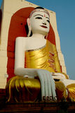 hongsaowademyanmar för 3 stor buddha white Fotografering för Bildbyråer