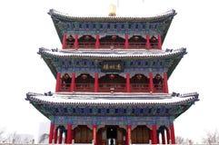 Hongshan pasa por alto el pabellón Fotografía de archivo libre de regalías