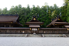Hongu Taisha主要寺庙 库存照片