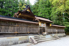 Hongu Taisha主要寺庙 免版税库存照片