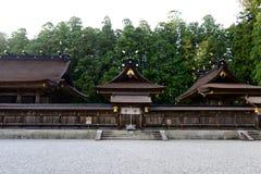 Hongu Taisha huvudsaklig relikskrin Arkivfoton