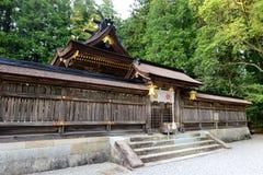 Hongu Taisha huvudsaklig relikskrin Royaltyfri Foto