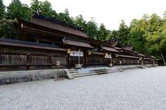 Hongu Taisha, Japan Arkivbild