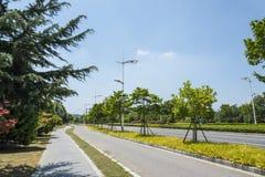 Hongze road scenery royalty free stock images