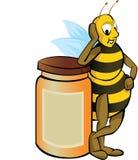 Honig-Biene lizenzfreie abbildung