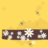Honig-Bienen Lizenzfreie Stockfotografie