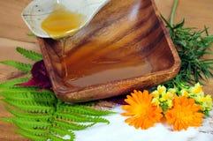 Honig-Blumen-Badekurort Lizenzfreies Stockbild