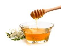 Honig - gießend stockbilder