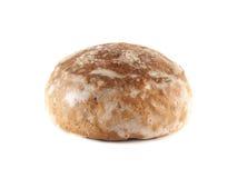 Honig-Kuchen auf dem weißen Hintergrund (frisch). Lizenzfreie Stockfotografie