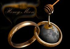 Honig-Mond 2 Lizenzfreies Stockfoto
