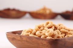 Honig- und Schokoladengetreide Stockfotos