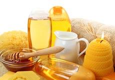 Honigbadekurort lizenzfreies stockbild