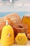 Honigbadekurort Stockbild