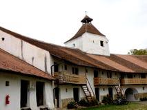 Honigberg (哈曼)加强了教会,撒克逊人,罗马尼亚 库存图片