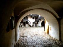 Honigberg (Harman) fortified church Royalty Free Stock Photos