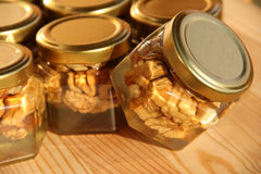Honigglas 11 Lizenzfreies Stockfoto