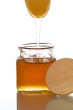 Honigglas Lizenzfreies Stockfoto