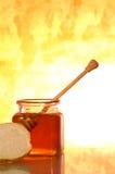 Honigglas Stockfotografie