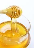 Honigglas Lizenzfreie Stockfotografie