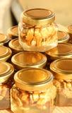 Honigglas 6 Lizenzfreies Stockfoto
