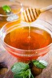 Honigschöpflöffel lizenzfreie stockbilder