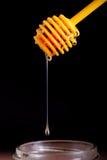 Honigzitronen- und -vitamin- Ckapseln Stockbild