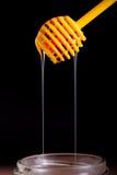 Honigzitronen- und -vitamin- Ckapseln Stockfoto