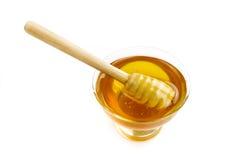 Honing in een kom Stock Afbeelding