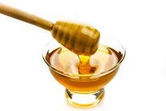 Honing in een kom Royalty-vrije Stock Foto