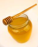 Honing op een wit Stock Fotografie