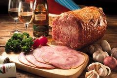 Honing Verglaasde Ham Stock Afbeeldingen