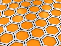 Honingraat vector illustratie