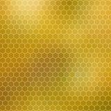 Honingraat - abstract geometrisch hexagon net Stock Afbeeldingen