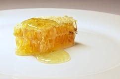 Honingraat dichte omhooggaand Stock Afbeeldingen